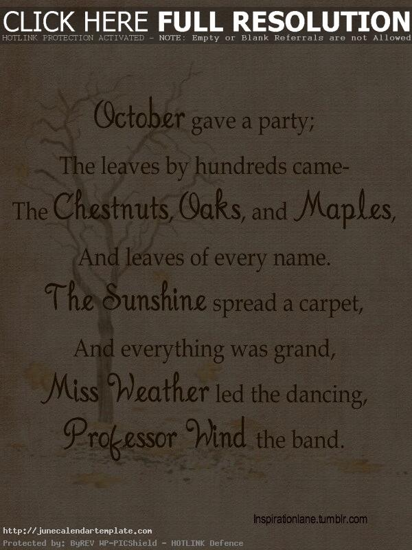 October Sayings And Quotes on Pinterest